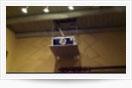 Elevador proyector techo